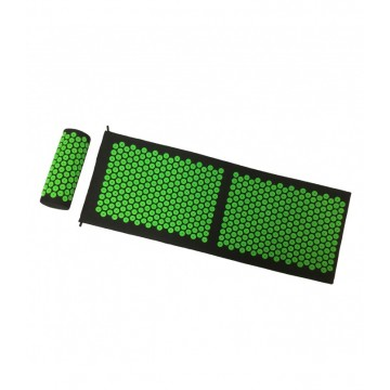 Akupresūras  paklājiņš ar spilvenu  130 cm x 42 cm x 2 cm