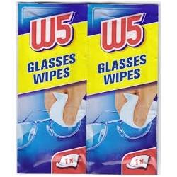 W5   54 gb. - mitrās salvetes brillēm un optikai