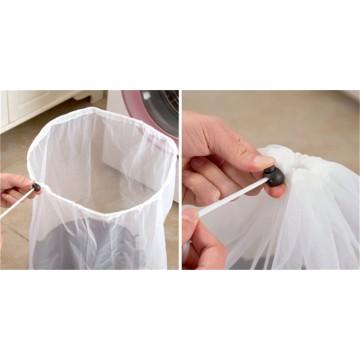 Сетка - Мешок для стирки белья на шнурке (2шт) 50х60 - 5кг.