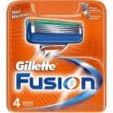 Gillette Fusion maiņas kasetes 4 gab.