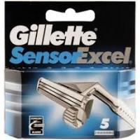 Gillette Sensor Excel Comfort Blades 5 gab.
