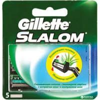 Gillette Slalom 5 gab.- Skūšanās asmeņu komplekts