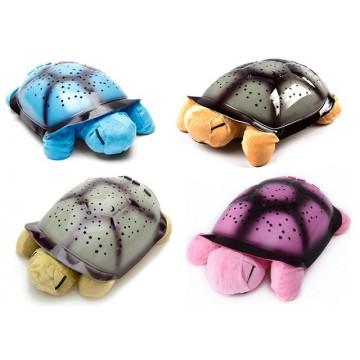 Muzikālais bruņurupucis - zvaigžņu projektors 17 x 33 x 10 cm.