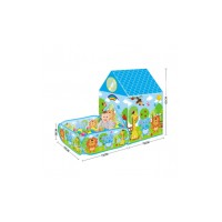 Bērnu telts ar baseinu bumbiņām 50gab.